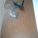 Preparación de la plancha de hierro
