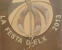 Detalle del cartel del Misteri d'Elx 2013