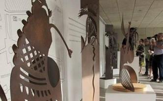 Obras de Antonio Pons que se exponen en La Alcudia.